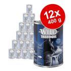 Set Scorta: Wild Freedom Adult lattine 12 x 400 g