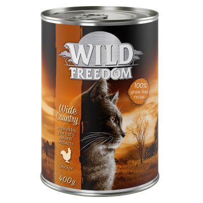 Set Scorta: Wild Freedom Adult 12 x 400 g