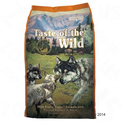 Set Transition! Taste of the Wild - High Prairie - verso la vita adulta