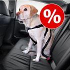 Setti: Trixie-autovaljaat koiralle ja suojapeite autoon