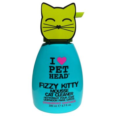 Shampooing PET HEAD Fizzy Kitty Mousse pour chat