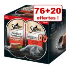 Sheba Perfect Portions 76 x 37,5 g pour chat + 20 barquettes offertes !