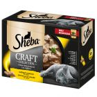 Sheba Shredded Pieces Craft Collection 12 x 85g