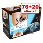 Sheba Sélection & Craft Collection : 76 x 85 g + 20 sachets offerts !