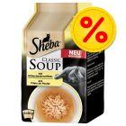 Sheba Classic Soup Kattenvoer Voordeelpakket 32 x 40 g