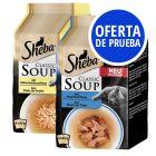 Sheba Classic Soup pack de prueba mixto en bolsitas 8 x 40 g