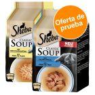 Sheba Classic Soup 8 x 40 g ¡con descuento! - Pack de prueba para gatos