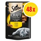 Sheba Craft Collection Pack 48 x 85g