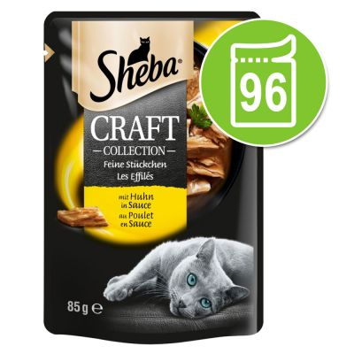 Sheba Craft Collection -säästöpakkaus 96 x 85 g