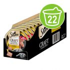 Sheba Craft Collection 22 x 85 g em terrinas