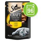 Sheba Craft Collection 96 x 85 g en sobres comida húmeda para gatos