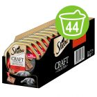 Sheba Craft Collection 44 x 85 g en tarrinas comida húmeda para gatos