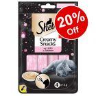 Sheba Creamy Snacks Cat Treats - 20% Off!*