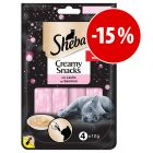 Sheba Creamy Snacks ¡con descuento!