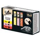 Sheba Creamy Snacks Pacco misto 18 x 12 g