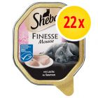 Sheba Finesse Mousse Trays 22 x 85g