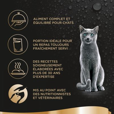 Sheba Fresh Cuisine Taste of Paris (MSC) 6 x 50 g pour chat
