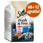 Sheba Fresh & Fine 72 x 50 g comida húmeda en oferta: 60 + 12 ¡gratis!