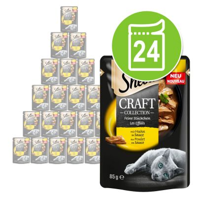 Sheba Les Créations Kattenvoer Collection Pack 24 x 85 g