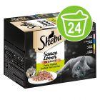 Sheba Multireceta 24 x 85 g en tarrinas comida húmeda para gatos