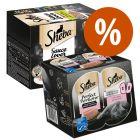 Sheba Multireceta 48 x 85 g  + 48 x 37,5 g Perfect Portions salmón ¡precio especial!