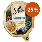 Sheba Nature's Collection 22 x 85 g en salsa para gatos ¡a precio especial!