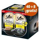 Sheba Perfect Portions 48 x 37,5 g en oferta: 40 + 8 ¡gratis!