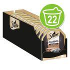 Sheba Receta única 22 x 85 g en tarrinas comida húmeda para gatos