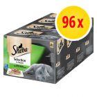 Sheba Selectie van de Chef Maaltijdzakjes kattenvoer 96 x 85 g
