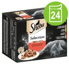 Sheba Variedades em saquetas 24 x 85 g - Pack económico