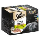 Sheba 12 x 85 g portionsform i blandpack