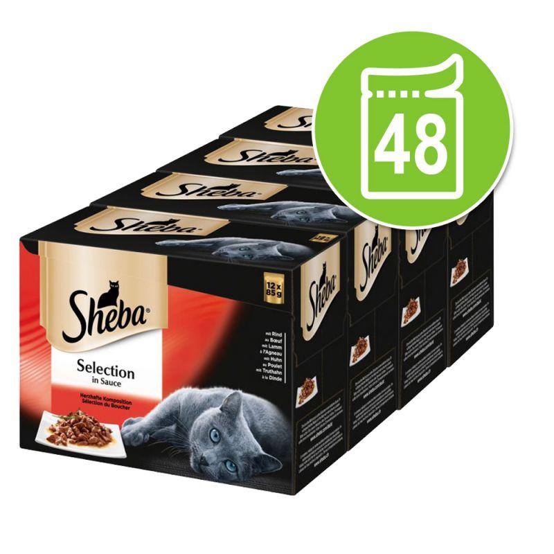 Sheba 48 x 85 g portionspåsar