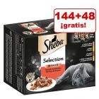 Sheba 192 x 85 g sobres en oferta: 144 + 48 ¡gratis!