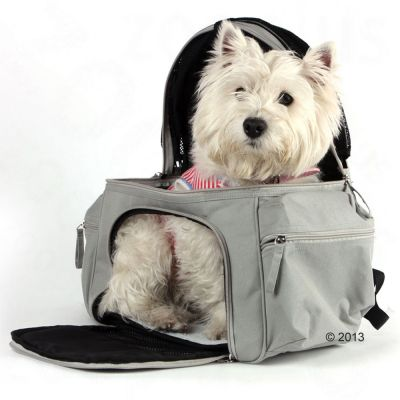 Sightseer Backpack Pet Carrier - Grey