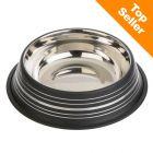 Silver Line skål i rustfrit stål, mat sort