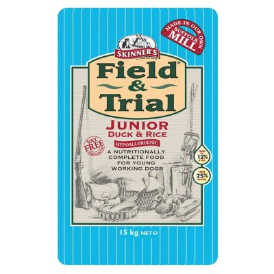 Skinner's Field & Trial Junior Duck & Rice Dry Dog Food