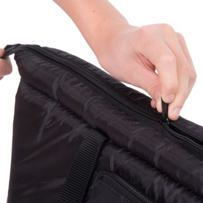 Sleek Nylon Travel Bag