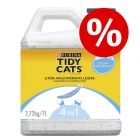 50% sleva! 7 / 20 l Tidy Cats Lightweight hrudkující kočkolit