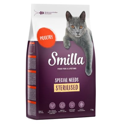 Smilla Adult Sterilised volaille pour chat