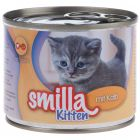 Smilla Kitten 6 x 200 g pour chaton