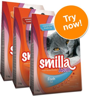 Smilla Adult Dry Food Mixed Trial Pack