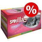 Smilla Adult Sterilised comida húmida 12 x 85 g a preço especial!