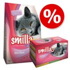 Smilla Adult Sterilised: granule + kapsičky za skvělou cenu