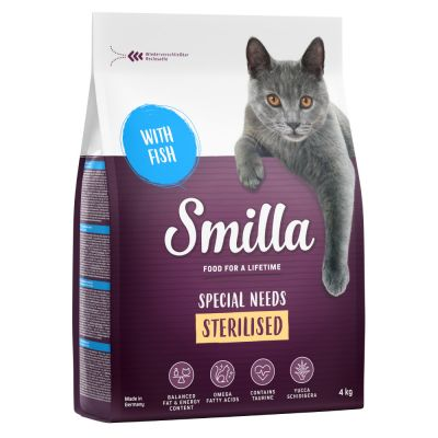 Smilla Adult Sterilised poisson pour chat
