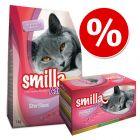 Smilla Adult Sterilised provpack - 1 kg + 12 x 85 g