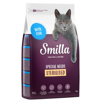 Smilla Adult Sterilised Vis Kattenvoer