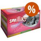 Smilla Adult Sterilised 12 x 85 g ¡a precio especial!