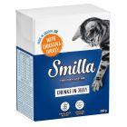 Smilla Bouchées en gelée 6 x 380 g pour chat