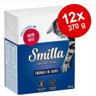 Smilla Chunks i sås 12 x 370 g