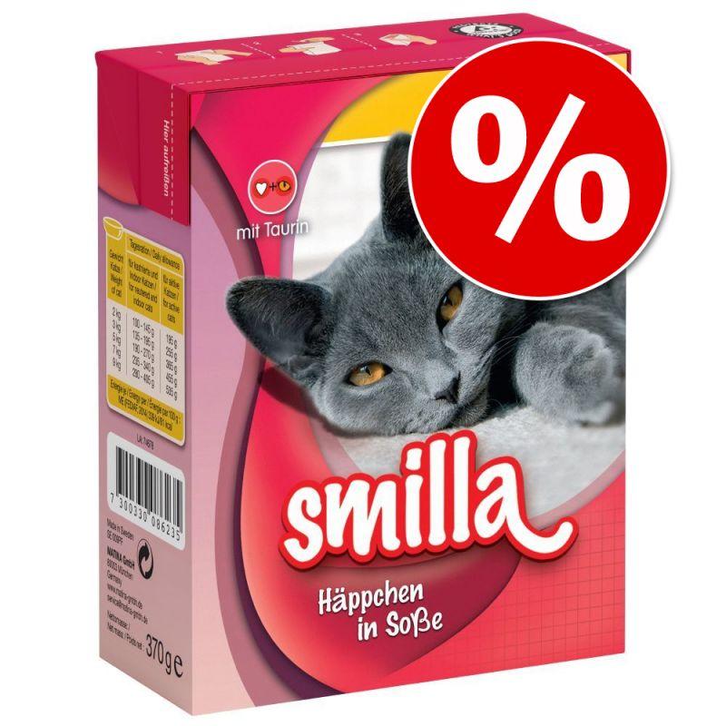 Smilla Chunks kissanruoka 24 x 370/380 g erikoishintaan!